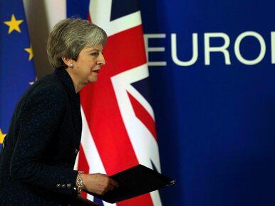 """Kolejne głosowanie ws. brexitu przesunięte. """"Nie ma wystarczającego..."""