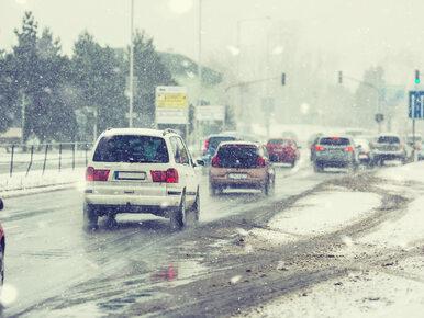 IMGW ostrzega: Ciężkie warunki na drogach i intensywne opady śniegu w 10...