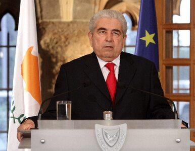 Prezydent Cypru: zawiodłem. Nie będę ubiegał się o reelekcję