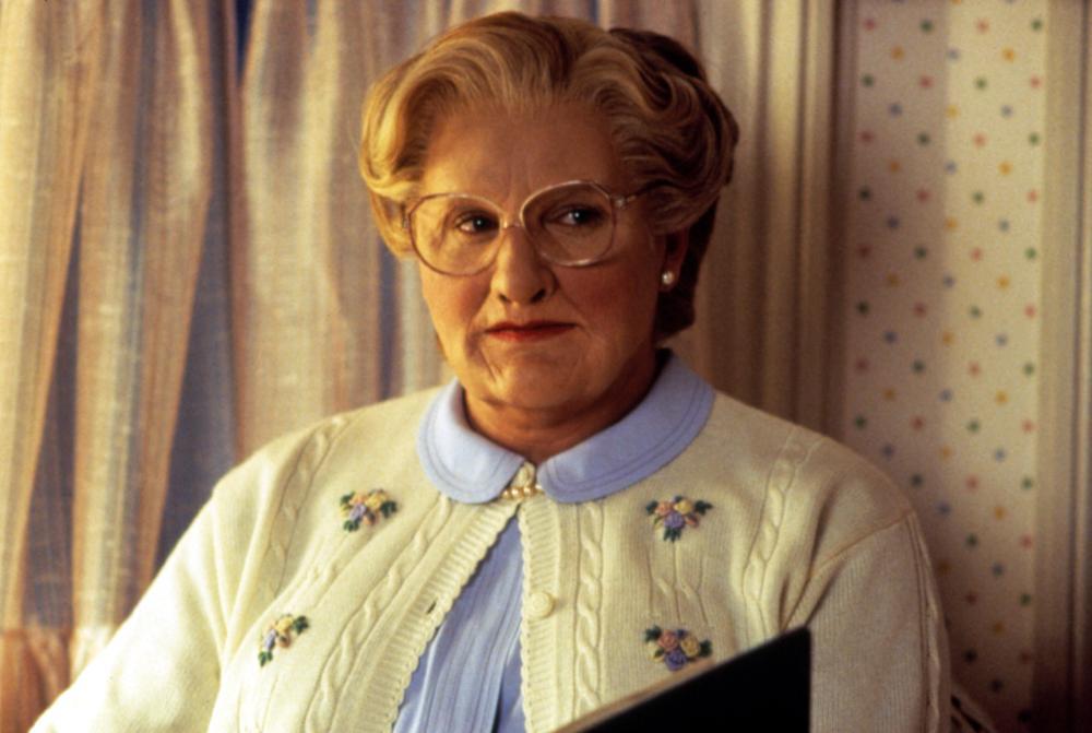 """Kto zagrał tytułową postać w filmie """"Pani Doubtfire"""" (1993)?"""