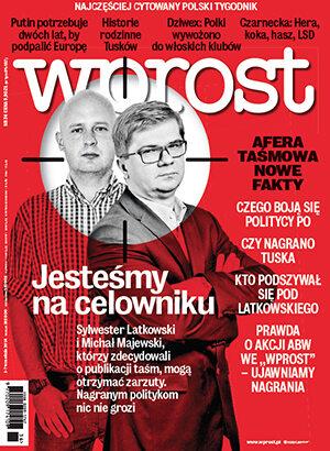 Okładka tygodnika Wprost nr 36/2014 (1644)