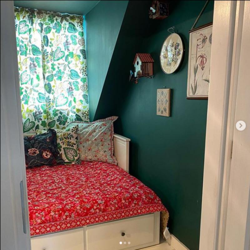 Sypialnia w domu gościnnym Doroty Szelągowskiej