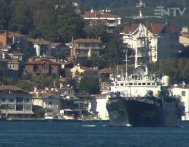 Rosyjskie okręty pokonały Bosfor. Zmierzają w kierunku Syrii
