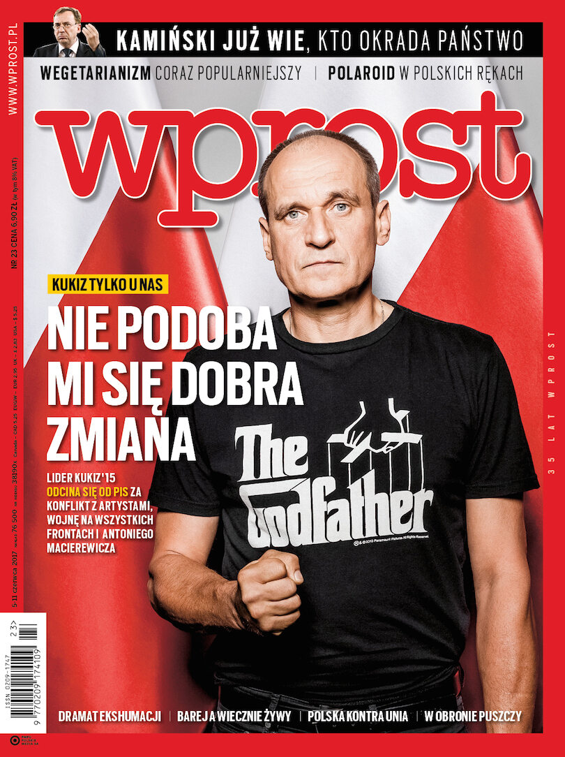 Okładka tygodnika Wprost nr 23/2017 (1789)