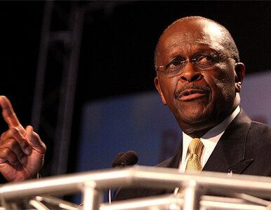 W szranki z Obamą stanie Herman Cain?
