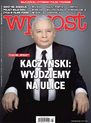 Okładka tygodnika Wprost nr 48/2014 (1656)