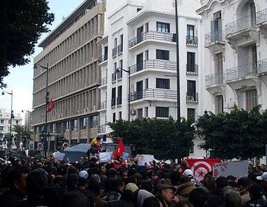 Tunezyjska policja rozpędziła pokojową demonstarcję