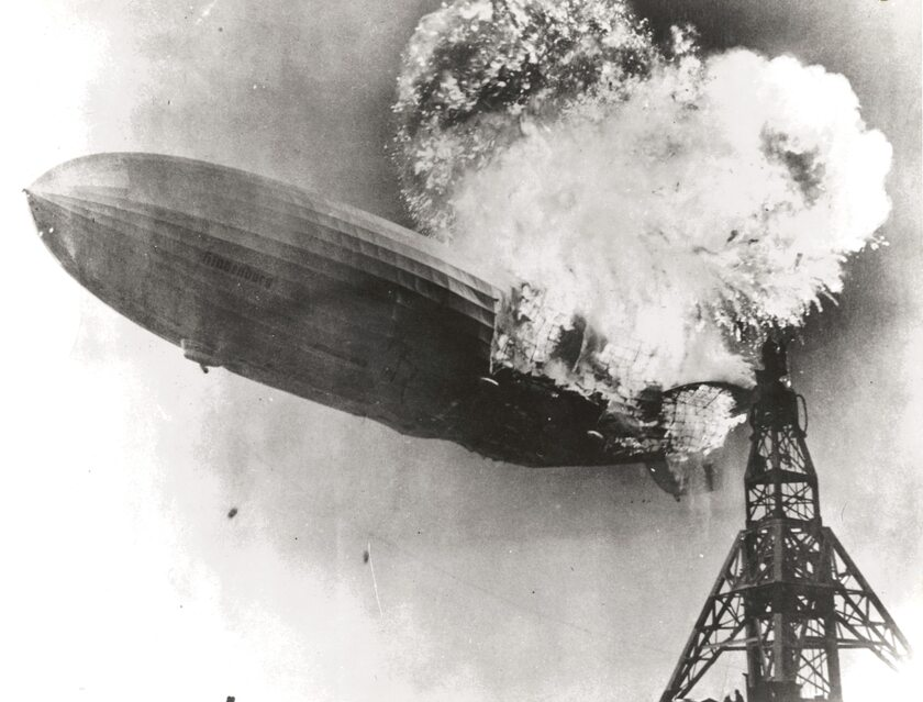 "Katastrofa sterowca ""Hindenburg"" 6 maja 1937 roku"