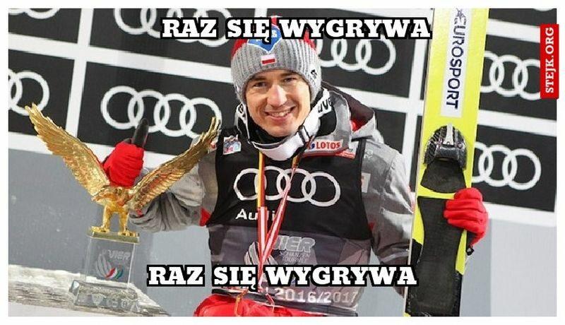 Mem po historycznej wygranej w TCS Kamila Stocha