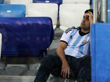 """FIFA """"zszokowana"""" zachowaniem argentyńskich kibiców. Do sieci trafiło..."""