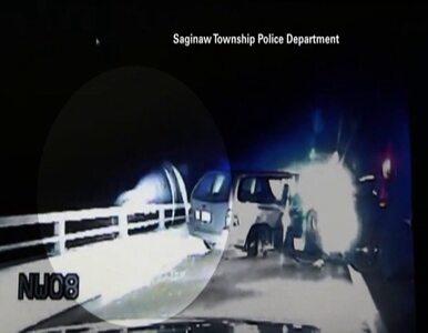 USA: uciekał przed policją - skoczył z 10-metrowego wiaduktu. Policjant...