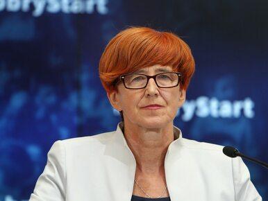 """Minister Rafalska ujawniła nowe dane o programie """"Dobry start"""". Ile..."""