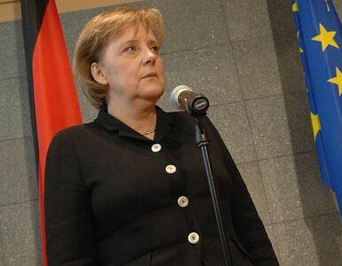 Merkel: upadek euro to upadek Europy