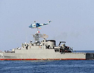 Irańska marynarka wojenna przez pomyłkę ostrzelała własny okręt. Nie...