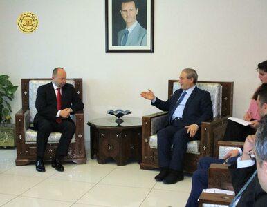 Zagadkowa wizyta polskiego wiceministra w Damaszku. Czego dotyczyły...