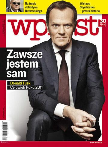 Okładka tygodnika Wprost nr 6/2012 (1512)