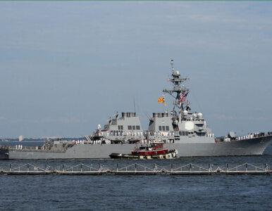 Amerykański niszczyciel na Morzu Czarnym. Promuje pokój i stabilność