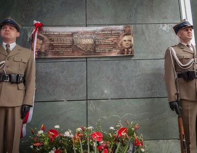 Prezydent odsłonił tablicę ku czci W. Stasiaka i A. Szczygły