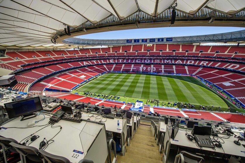 Stadion Wanda Metropolitano w Madrycie
