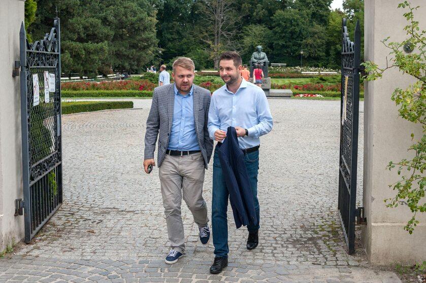 Jacek Ozdoba i Patryk Jaki