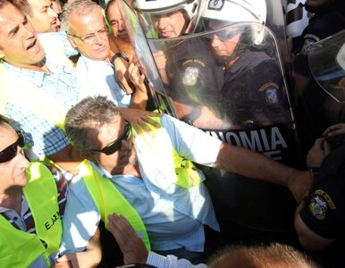 Grecja: policjanci przeciwko policjantom