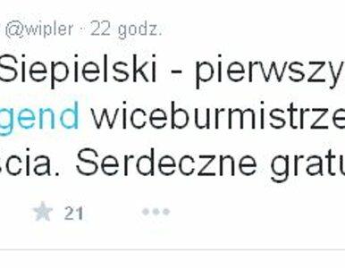"""Wipler: To burmistrz z """"wiplerjugend"""". Rozłam w Miasto Jest Nasze"""