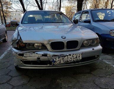 Kierowca BMW wjechał w kiosk z pieczywem. Prawo jazdy miał od 12 dni