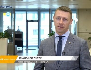 Aforti Holding SA, Klaudiusz Sytek - Prezes Zarządu, #219 PREZENTACJE...