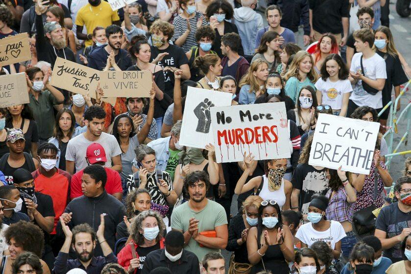 Protesty po śmierci George'a Floyda