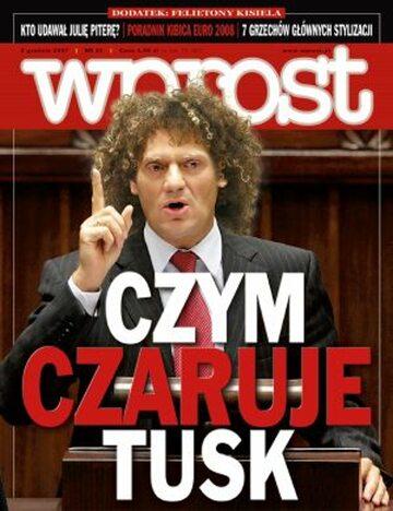 Okładka tygodnika Wprost nr 48/2007 (1301)