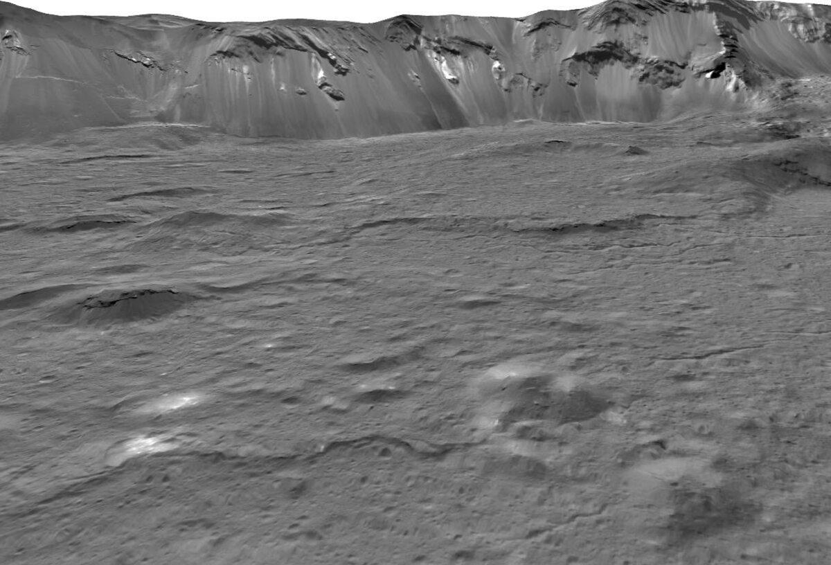 Jasne obiekty na Ceresie