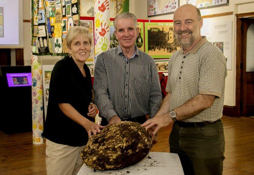 Bryła masła w Cavan County Museum