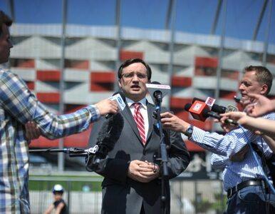 Ziobro: Merkel bojkotuje Euro? Spytam ją, czy zbojkotuje olimpiadę w Rosji