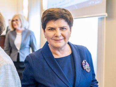 Szydło przedstawiła kandydatów PiS w okręgu małopolsko-świętokrzyskim....