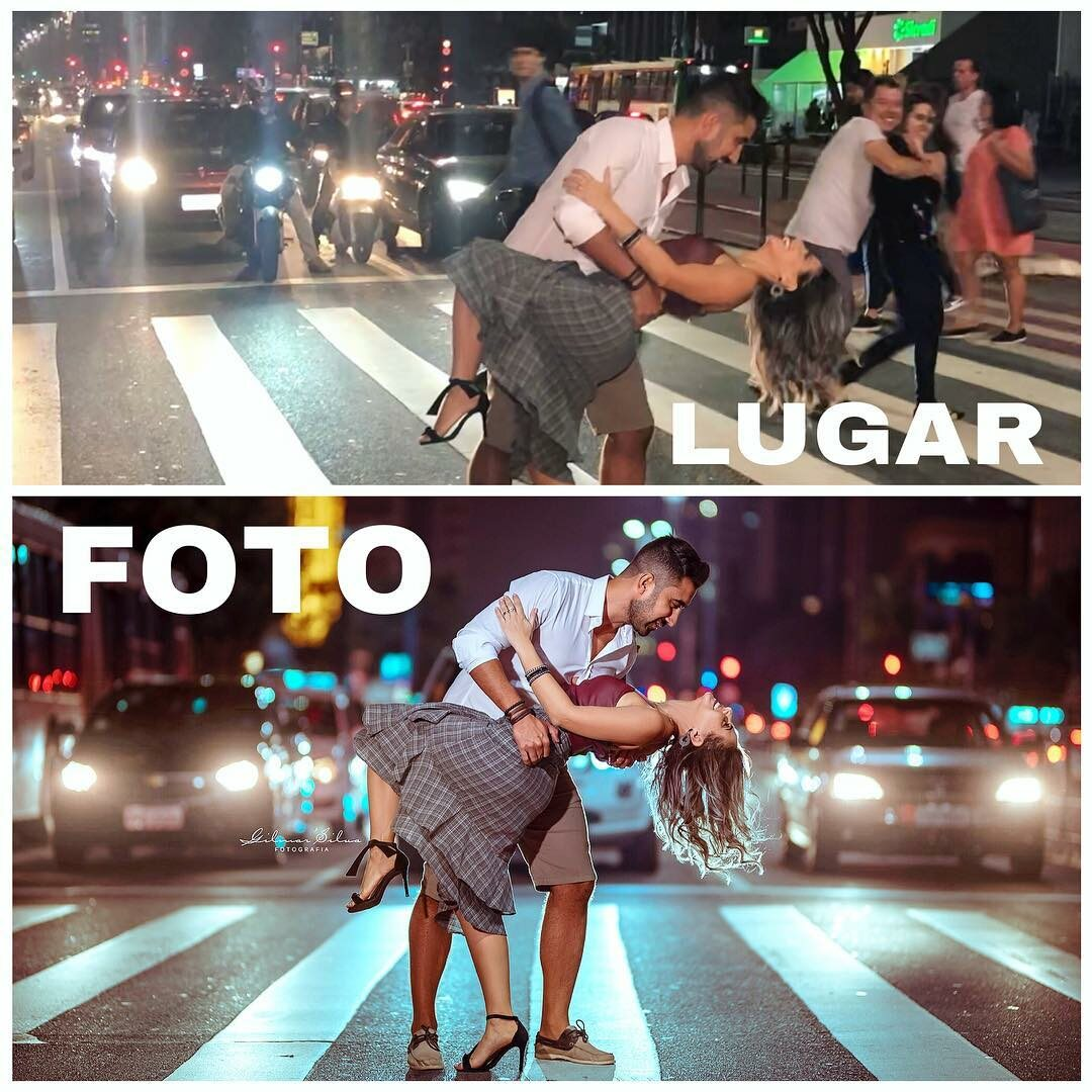 Plan zdjęciowy i efekt pracy fotografa