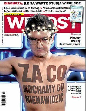 Okładka tygodnika Wprost nr 40/2009 (1393)
