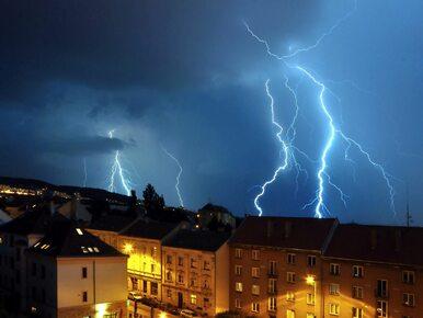 W poniedziałek deszcz i burze z gradem nad częścią kraju. Wiatr w...