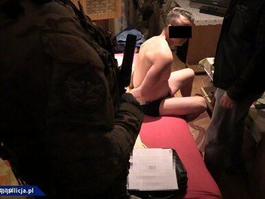 Akcja CBŚP i prokuratury na Mazowszu. Zatrzymano 15 osób, postawiono 199...