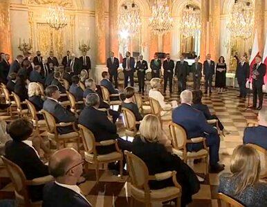 Kaczyński spóźnił się na uroczystości na Zamku Królewskim. Prezydent na...