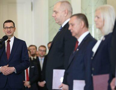 Nowi ministrowie w gabinecie Mateusza Morawieckiego. Kim są?