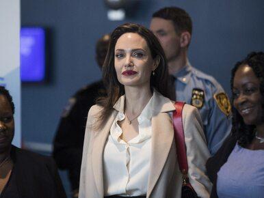 """Angelina Jolie nie wyklucza kandydowania na urząd publiczny. """"Nigdy nie..."""