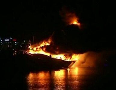 Luksusowe jachty spłonęły w australijskiej marinie