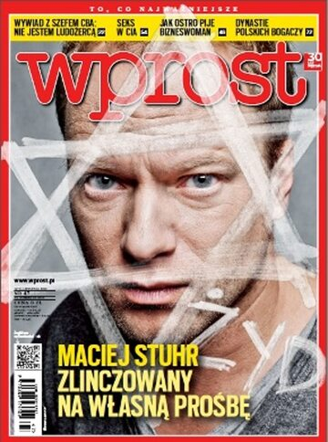 Okładka tygodnika Wprost nr 47/2012 (1553)