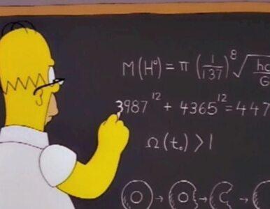 """Homer Simpson przewidział masę bozonu Higgsa? """"Pomylił się o 650 GeV"""""""