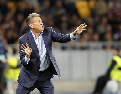 Ukraina znalazła trenera na mecze z Mołdawią i Czarnogórą