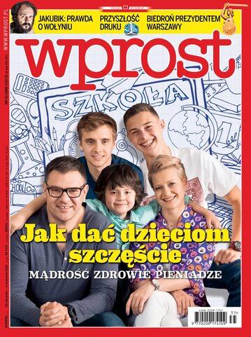 Okładka tygodnika Wprost nr 35/2016 (1751)