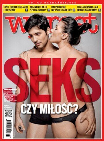Okładka tygodnika Wprost nr 7/2013 (1564)