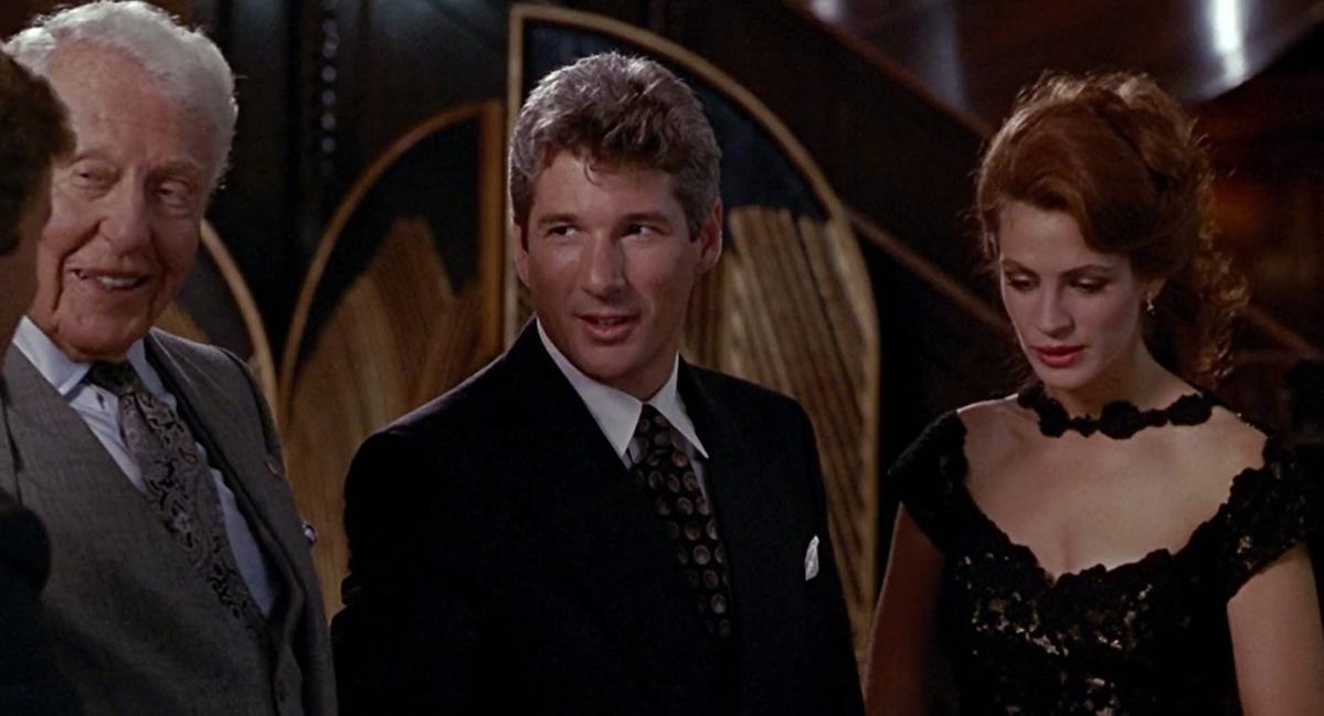 "Richard Gere w filmie ""Pretty Woman"""