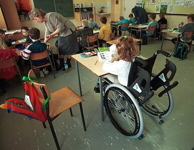 ZNP: szkoły nie są przygotowane dla uczniów niepełnosprawnych