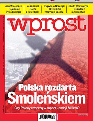 Okładka tygodnika Wprost nr 31/2011 (1486)